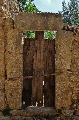 Photograph - Mysterious Door by Dany Lison
