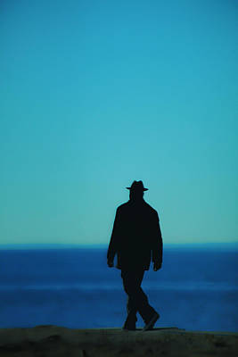 Photograph - Mysterious Man by Karol Livote