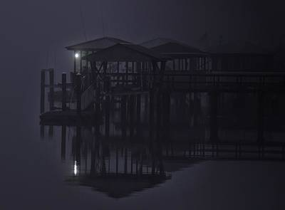 Art Print featuring the photograph Mysterious Morning by Laura Ragland
