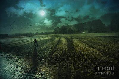 Photograph - Mysterious Shadows by Jutta Maria Pusl