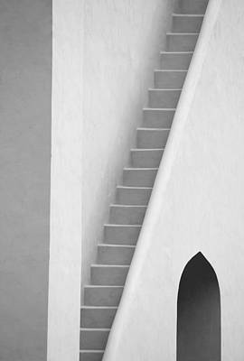 Mysterious Staircase Art Print