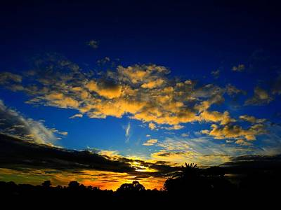 Mysterious Sunset Art Print by Mark Blauhoefer