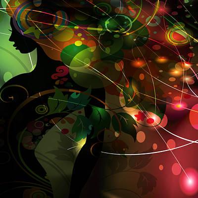 Digital Art - Mystery by Angelina Vick