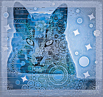 Mystery Cat  Original by Eleni Mac Synodinos