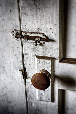 Photograph - Mystery Door by Caitlyn  Grasso