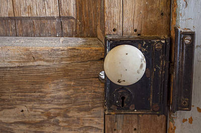 Photograph - Mystery Door by Fran Riley