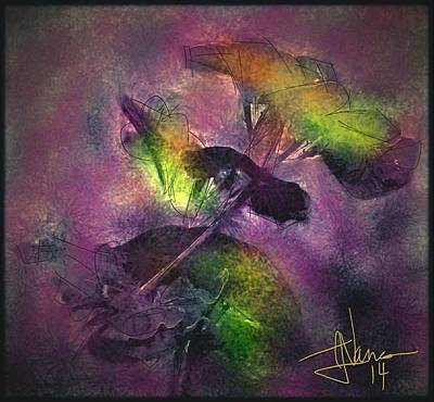 Digital Art - Mystery Flowers by Jim Vance