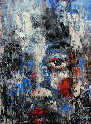 Painting - Mystery Gaze by Jim Vance