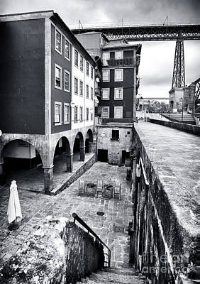 Luis Sales Photograph - Mystery In Porto by John Rizzuto