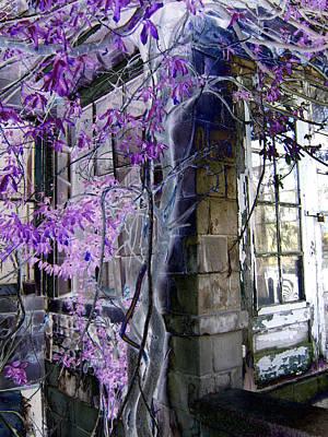 Old House Photograph - Mystery by James Z Jilbert