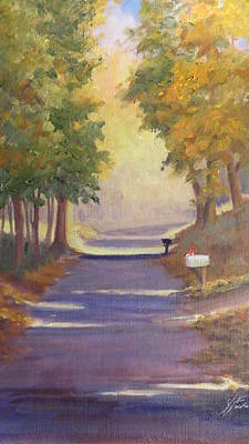 Painting - Mystery Mail by Judy Fischer Walton