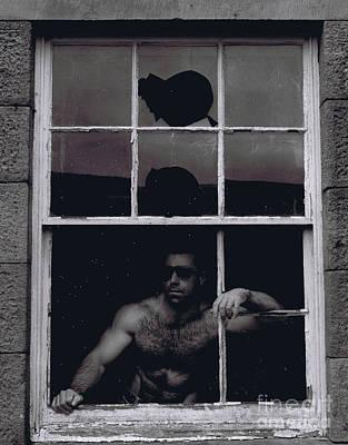 Photograph - Mystery Man by Kenneth Clarke