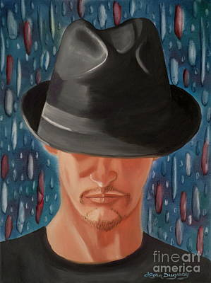 Painting - Mystery Man by Lora Duguay