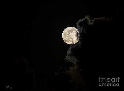 Photograph - Mystery Moon by Rene Triay Photography