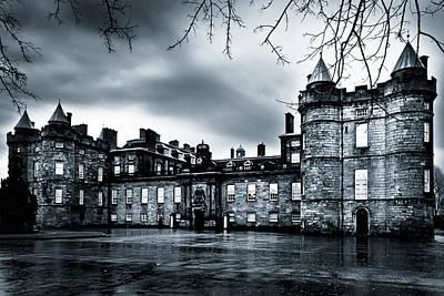 Photograph - Mystery Of Holyrood Palace by Mark E Tisdale