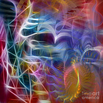 Digital Art - Mystery Of Light -square Version by John Beck