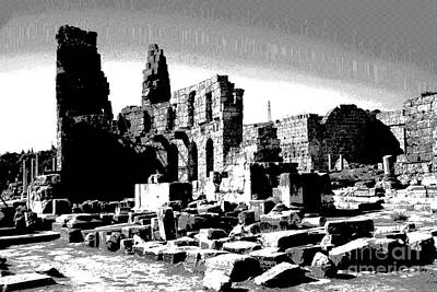 Photograph - Mystery Of Perge - Turkey by Jacqueline M Lewis