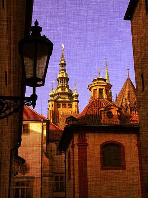 Czech Republic Mixed Media - Mystery Prague by Katerina Lesslerova