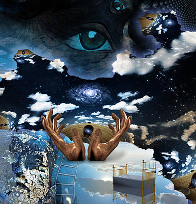 Surrealism Digital Art - Mystery Surreal by Bruce Rolff