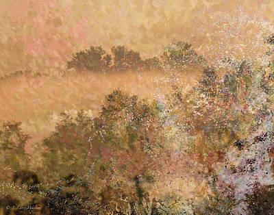 Mystery Swamp Sunrise Art Print by J Larry Walker