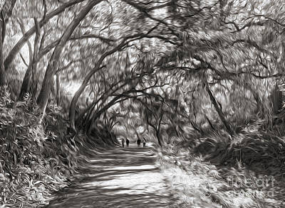 Painting - Mystery Trail - 02 by Gregory Dyer