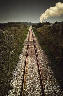Machine Photograph - Mystery Train by Carlos Caetano