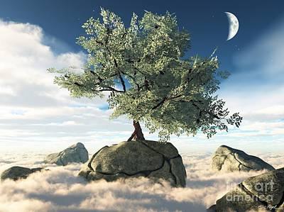 Mystery Tree Art Print by Eric Nagel