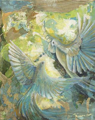 Inner World Painting - Mystery by Valerie Graniou-Cook