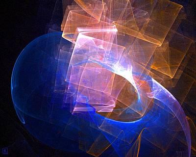 Artport Digital Art - Mystery Vessel Aglow 2 by Jeanne Liander