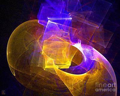 Artport Digital Art - Mystery Vessel Aglow 3 by Jeanne Liander