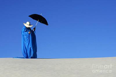 Photograph - Mystic Blue 6 by Bob Christopher