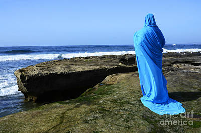 Photograph - Mystic Blue By The Sea 1 by Bob Christopher