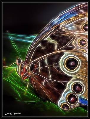 Painting - Mystic Butterfly by Jon Volden