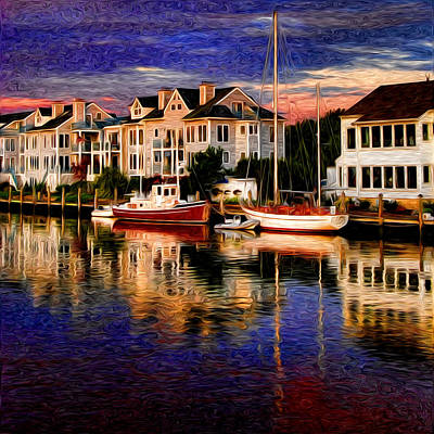 Bright Colors Photograph - Mystic Ct by Sabine Jacobs