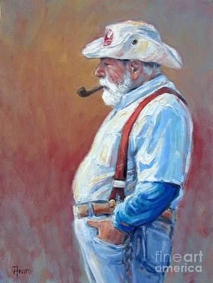 Painting - Mystic Ct Sea Captain by Vickie Fears