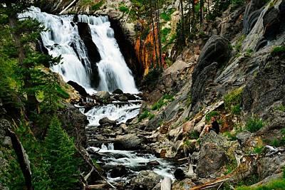 Photograph - Mystic Falls by Walt Sterneman