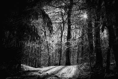 Mystic Forest Art Print by Marina Likholat