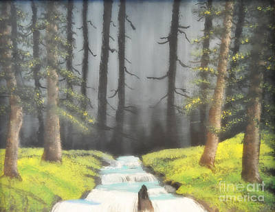 Mystic Forest Art Print by Mindy Bench
