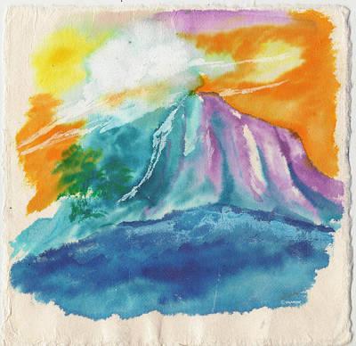 Mystic Island Art Print