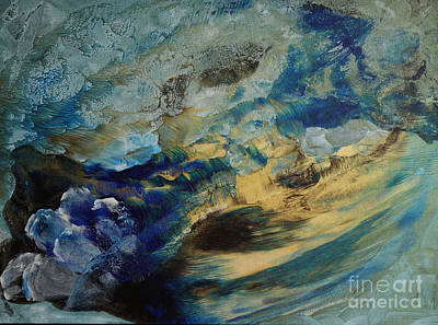 Painting - Mystic Lake by Valia US