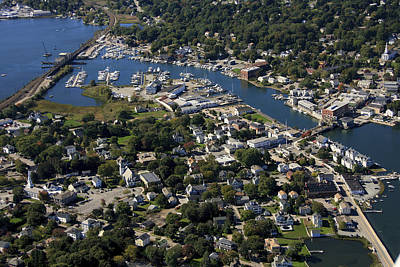 Mystic, Maine Print by Dave Cleaveland