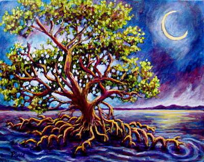 Painting - Mystic Mangrove by Sebastian Pierre