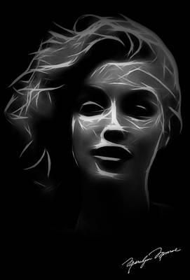 Sex Digital Art - Mystic Marilyn by Steve K