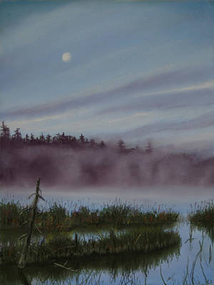 Landscape Painting - Mystic Morning by Kathy Dolan