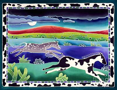 Pinto Painting - Mystic Mountain by Harriet Peck Taylor