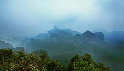 Photograph - Mystic Paradise 6 by Afrison Ma