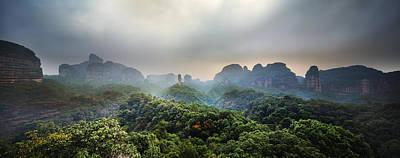 Photograph - Mystic Paradise 7 by Afrison Ma