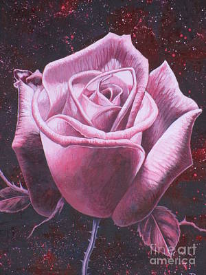 Painting - Mystic Rose by Vivien Rhyan