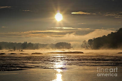 Art Print featuring the photograph Mystic Shores by Everett Houser