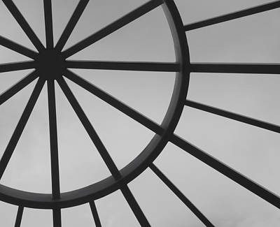 Abstract Forms Photograph - Mystic Wheel  by Steven Milner